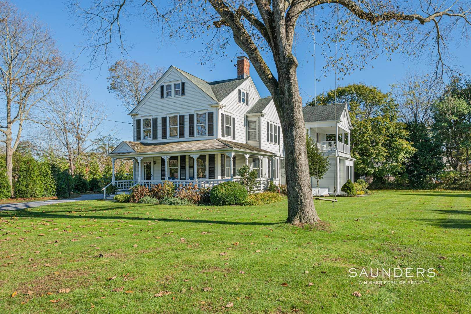 Single Family Homes for Sale at Historic Victorian On Quogue Street 81 Quogue Street, Quogue Village, Southampton Town, NY 11959
