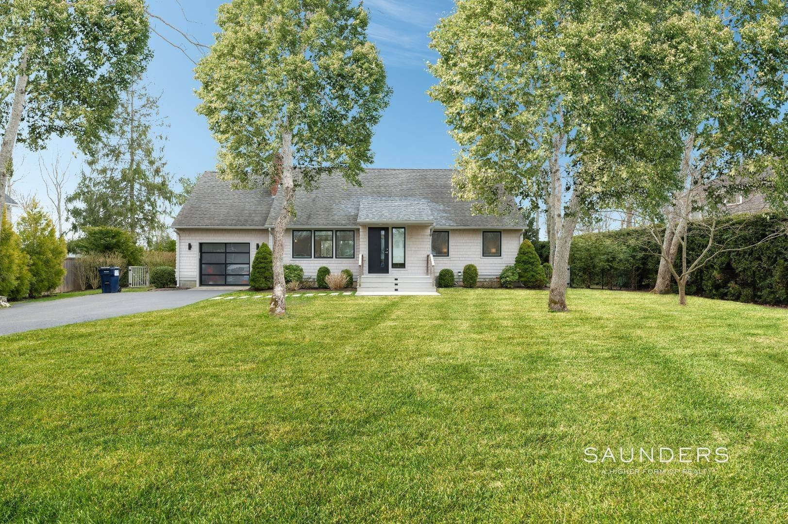 Single Family Homes at Chic Renovated Cape In The Village 128 Beach Road, Westhampton Beach Village, Southampton Town, NY 11978