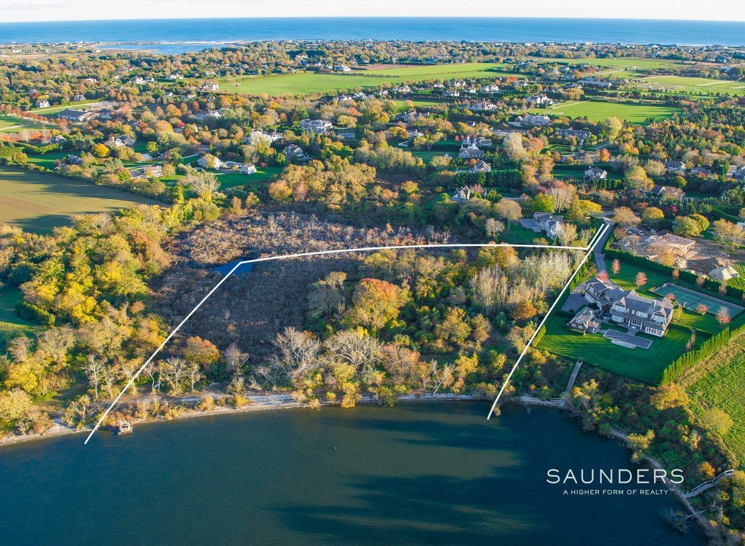 Land for Sale at Valuable Waterfront Lot In Bridgehampton South 81 Jennifir Lane, Bridgehampton, Southampton Town, NY 11953