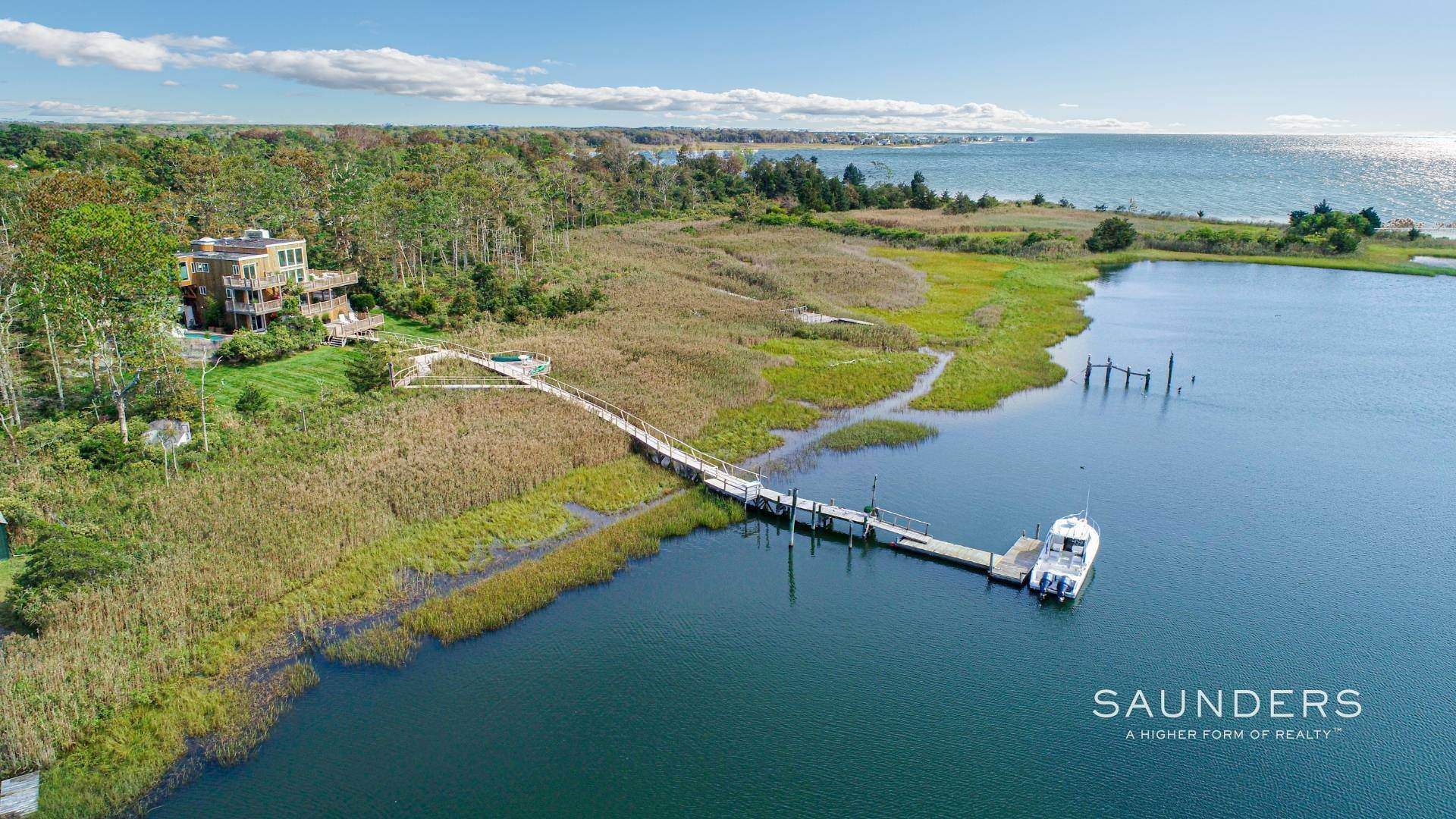 Single Family Homes for Sale at Exceptional Shinnecock Bay Retreat 6 Fedak Lane, East Quogue, Southampton Town, NY 11942