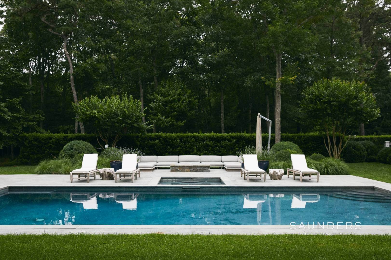 28. Single Family Homes for Sale at Rare Opportunity In Wainscott South With Tennis 23 Two Rod Highway, Wainscott, East Hampton Town, NY 11975
