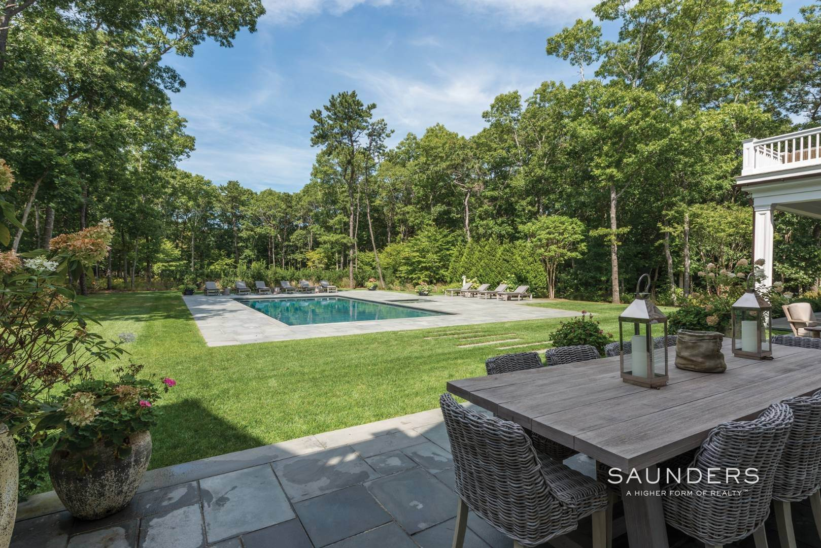 4. Single Family Homes for Sale at Rare Opportunity In Wainscott South With Tennis 23 Two Rod Highway, Wainscott, East Hampton Town, NY 11975