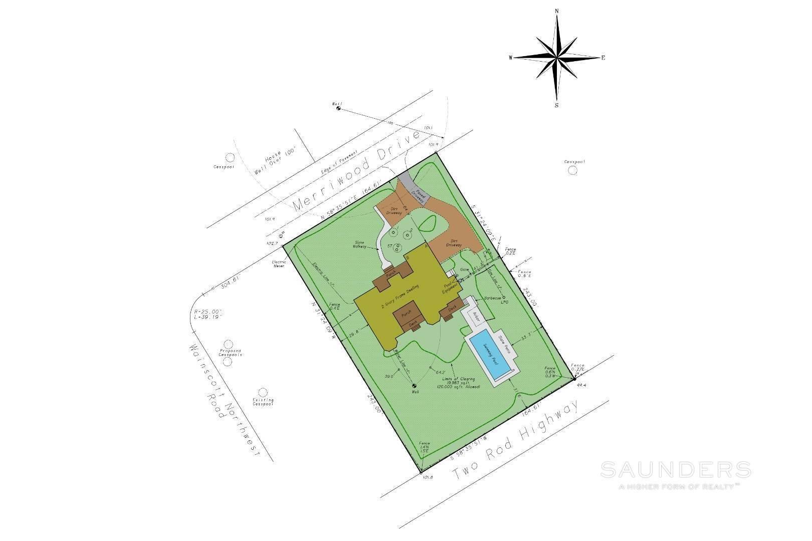 25. Single Family Homes for Sale at Wainscott South Traditional Near Beach Lane 10 Merriwood Drive, Wainscott, East Hampton Town, NY 11975