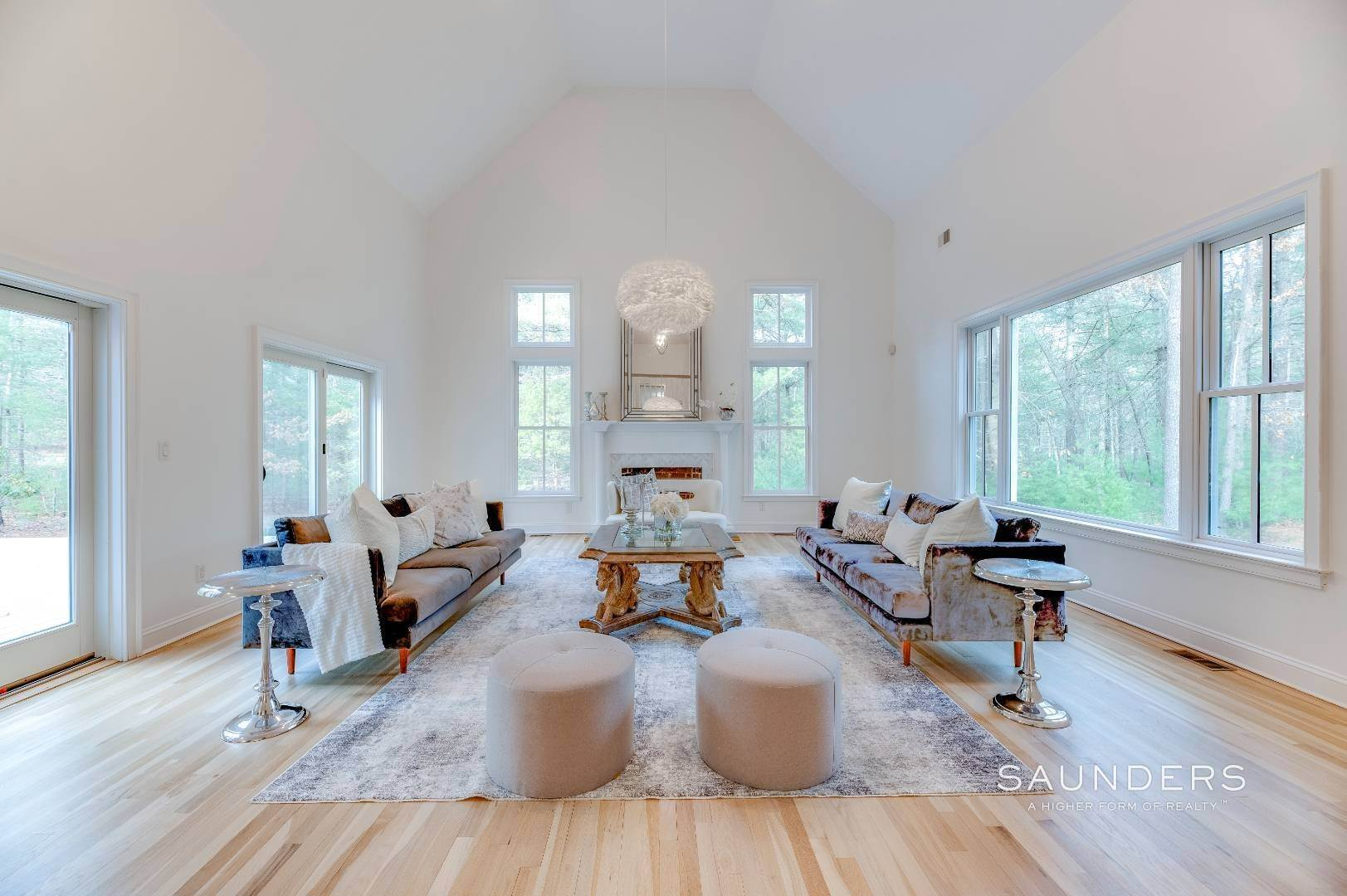 2. Single Family Homes for Sale at Expansive Private Retreat 225 Old Northwest Road, East Hampton, East Hampton Town, NY 11937