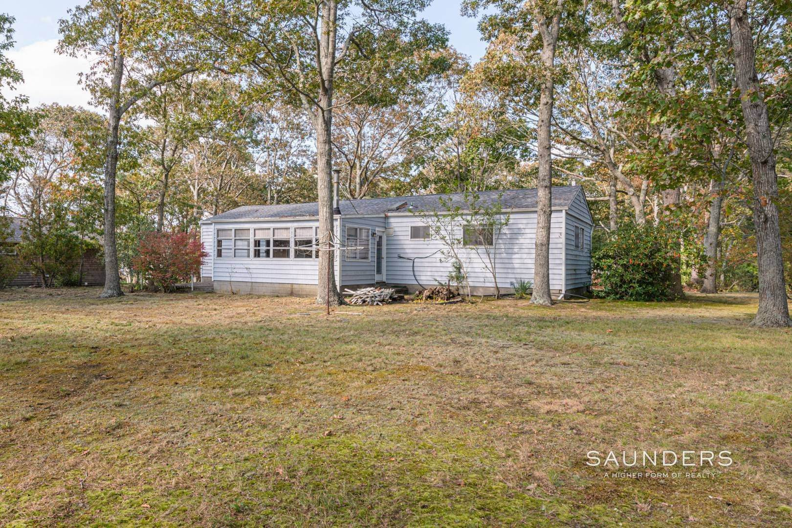 2. Single Family Homes for Sale at Desirable Tiana Shores Ranch Home With Great Potential 7 Cottage Lane, Hampton Bays, NY 11946