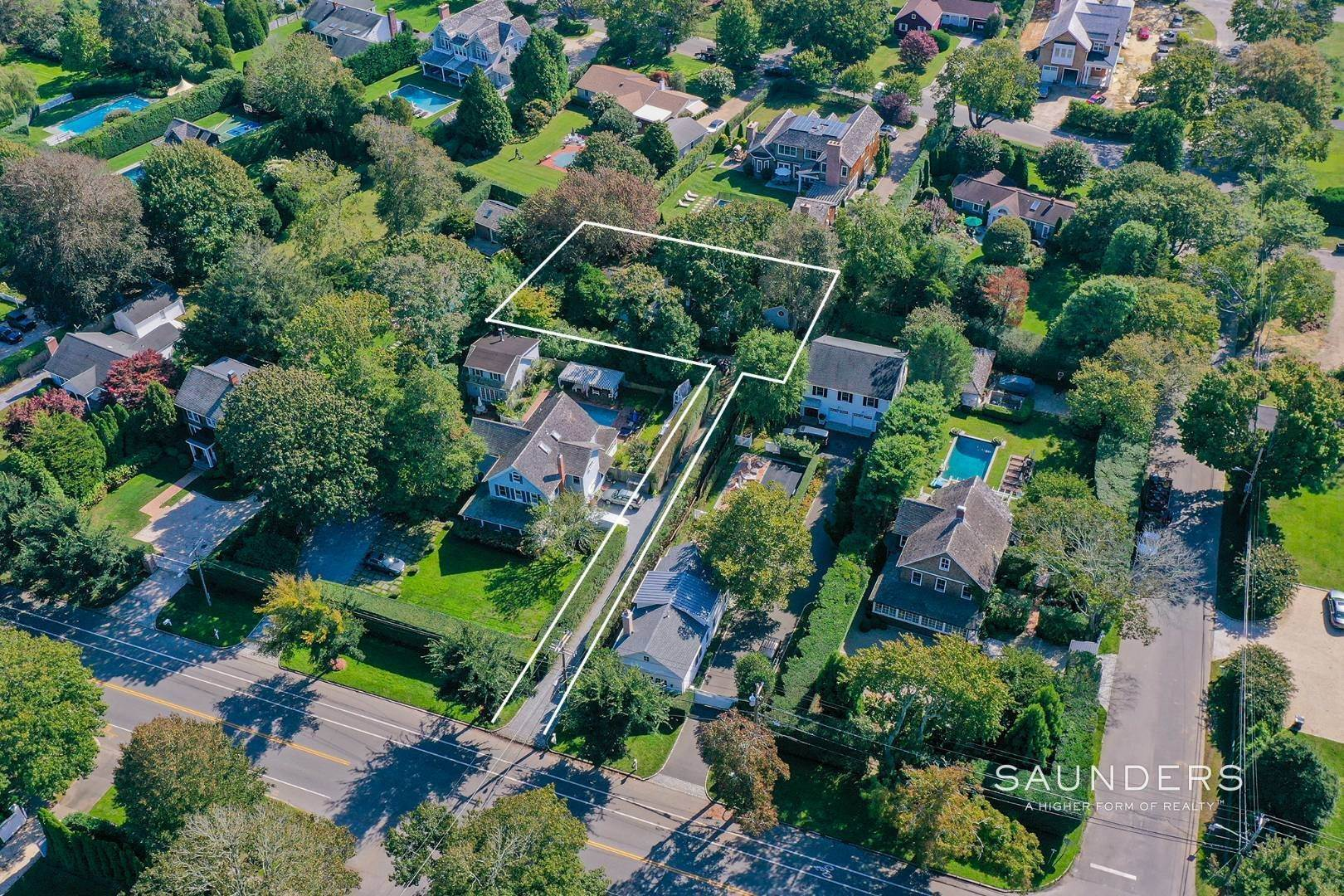 2. Single Family Homes for Sale at Southampton Village Renovate Or Build Opportunity 306 Hill Street, Southampton, Southampton Town, NY 11968