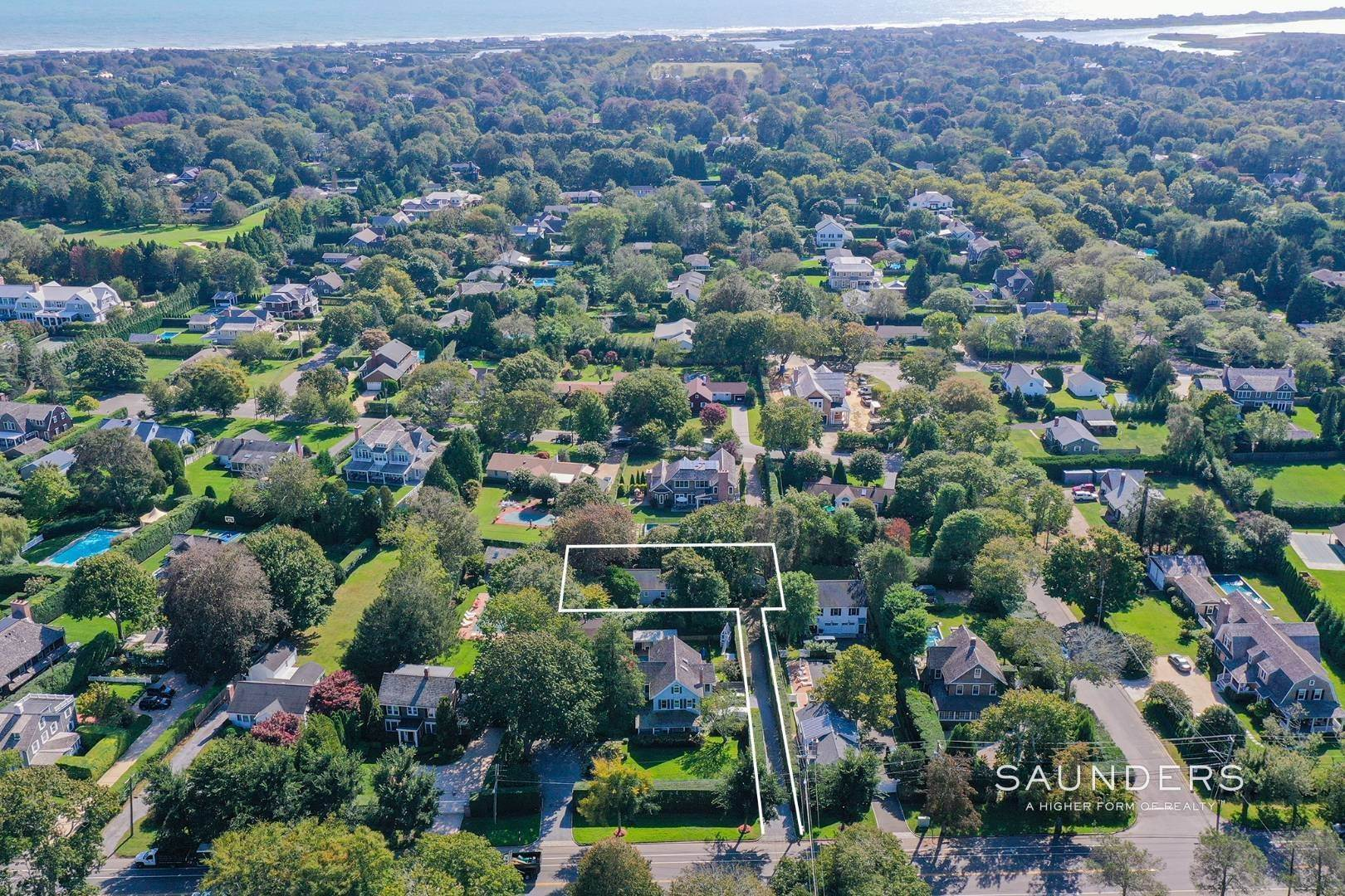 Single Family Homes for Sale at Southampton Village Renovate Or Build Opportunity 306 Hill Street, Southampton, Southampton Town, NY 11968