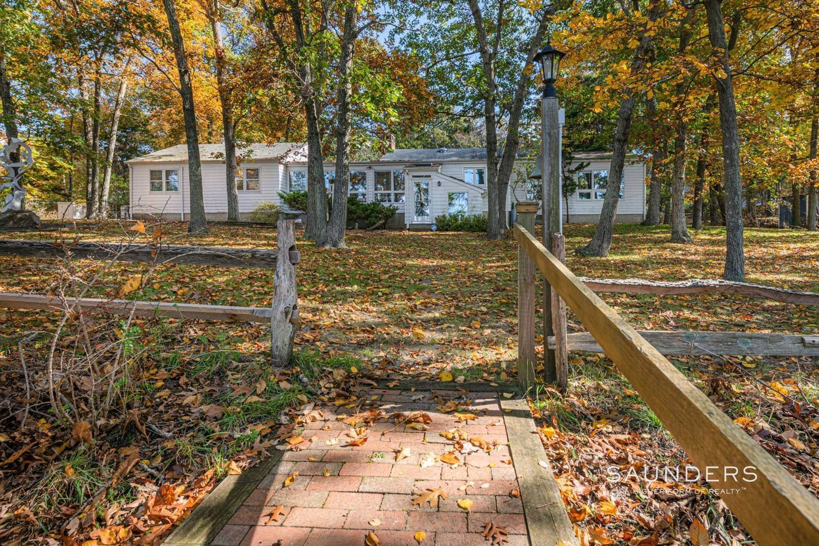 8. Single Family Homes for Sale at Red Cedar Point Waterfront 10 North Shore Road, Hampton Bays, Southampton Town, NY 11946