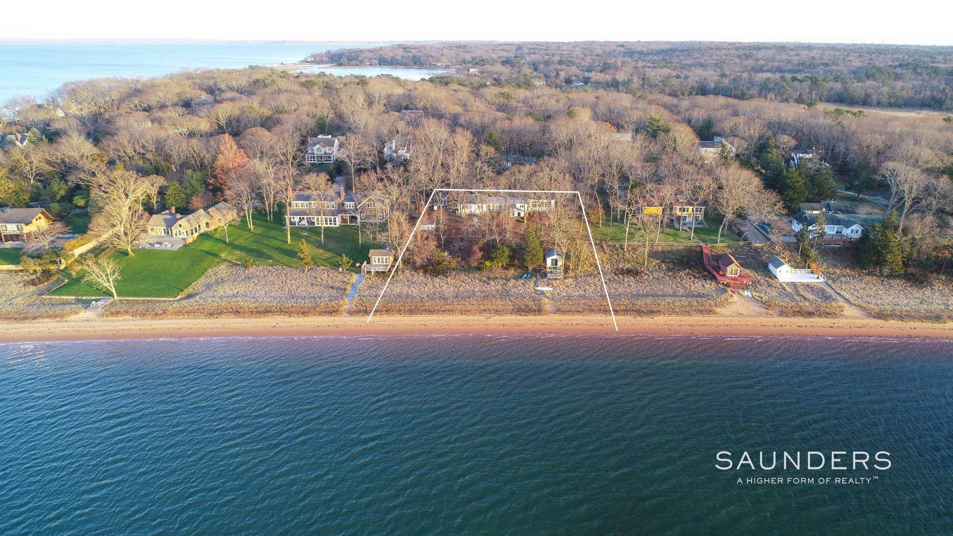 Single Family Homes for Sale at Red Cedar Point Waterfront 10 North Shore Road, Hampton Bays, Southampton Town, NY 11946