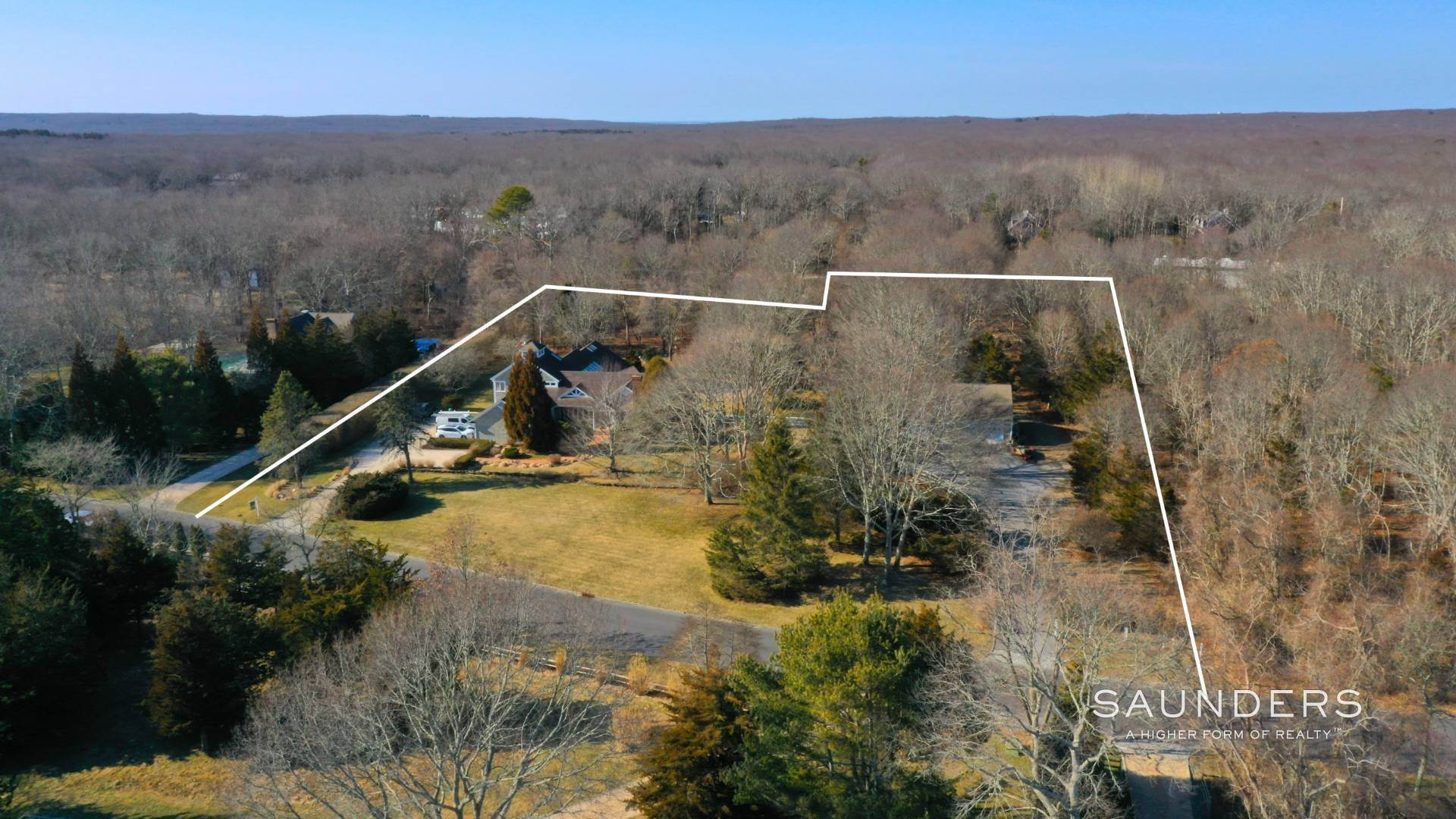 Single Family Homes for Sale at 2.8 Acres In Sagaponack Village W/ Barn & Room For Tennis 44 Greenleaf Lane, Sagaponack Village, Southampton Town, NY 11962