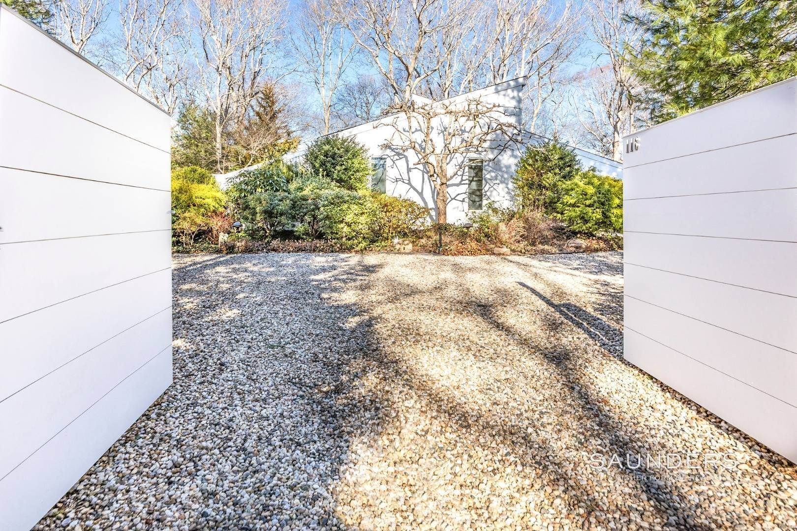 Single Family Homes for Sale at Artful East Hampton Postmodern 116 Sycamore Drive, East Hampton, East Hampton Town, NY 11937