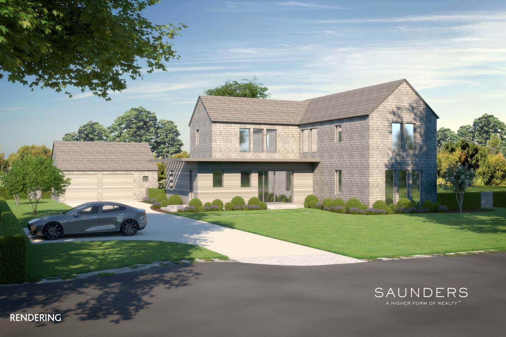 Single Family Homes at New Custom Construction-Heart Of The Village! 12 Davids Lane, East Hampton, East Hampton Town, NY 11937