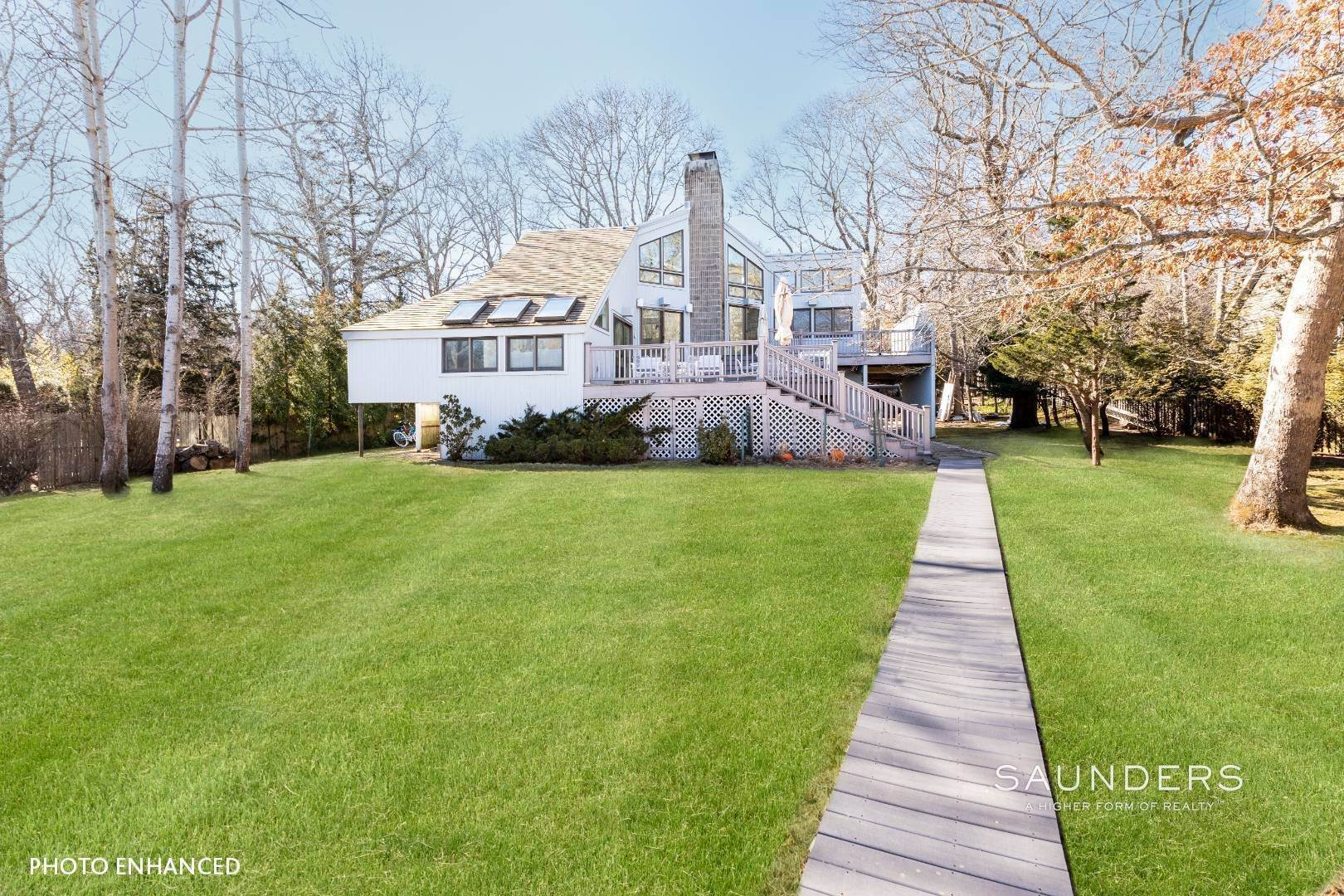 Single Family Homes for Sale at The Ultimate Waterfront Lifestyle Retreat 15 Isle Of Wight Road, East Hampton, East Hampton Town, NY 11937