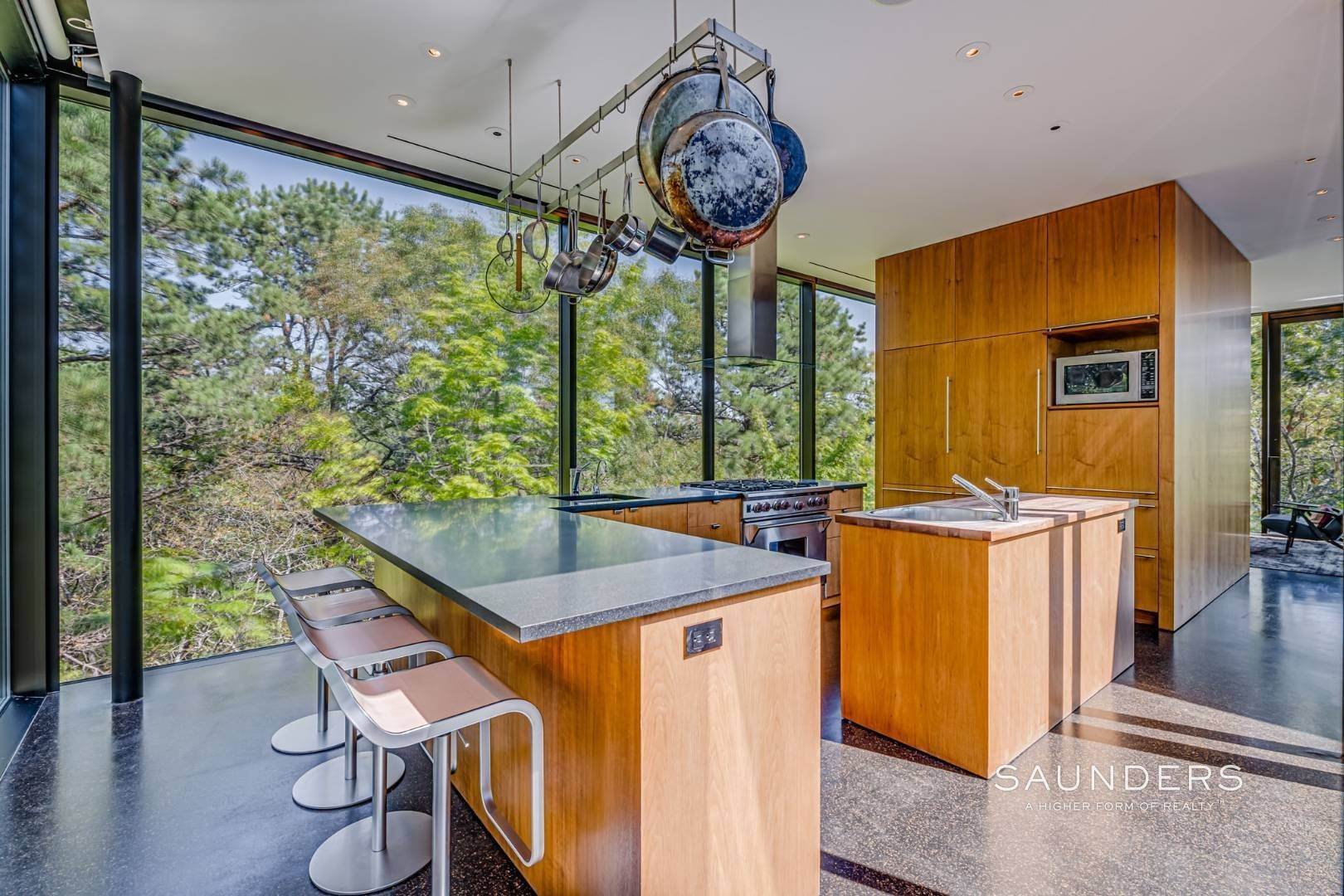 9. Single Family Homes for Sale at 16 Acres, Rooftop Views, Private Hiking Trails, 2 Guest Houses 1052 Noyac Path, Water Mill, Southampton Town, NY 11976