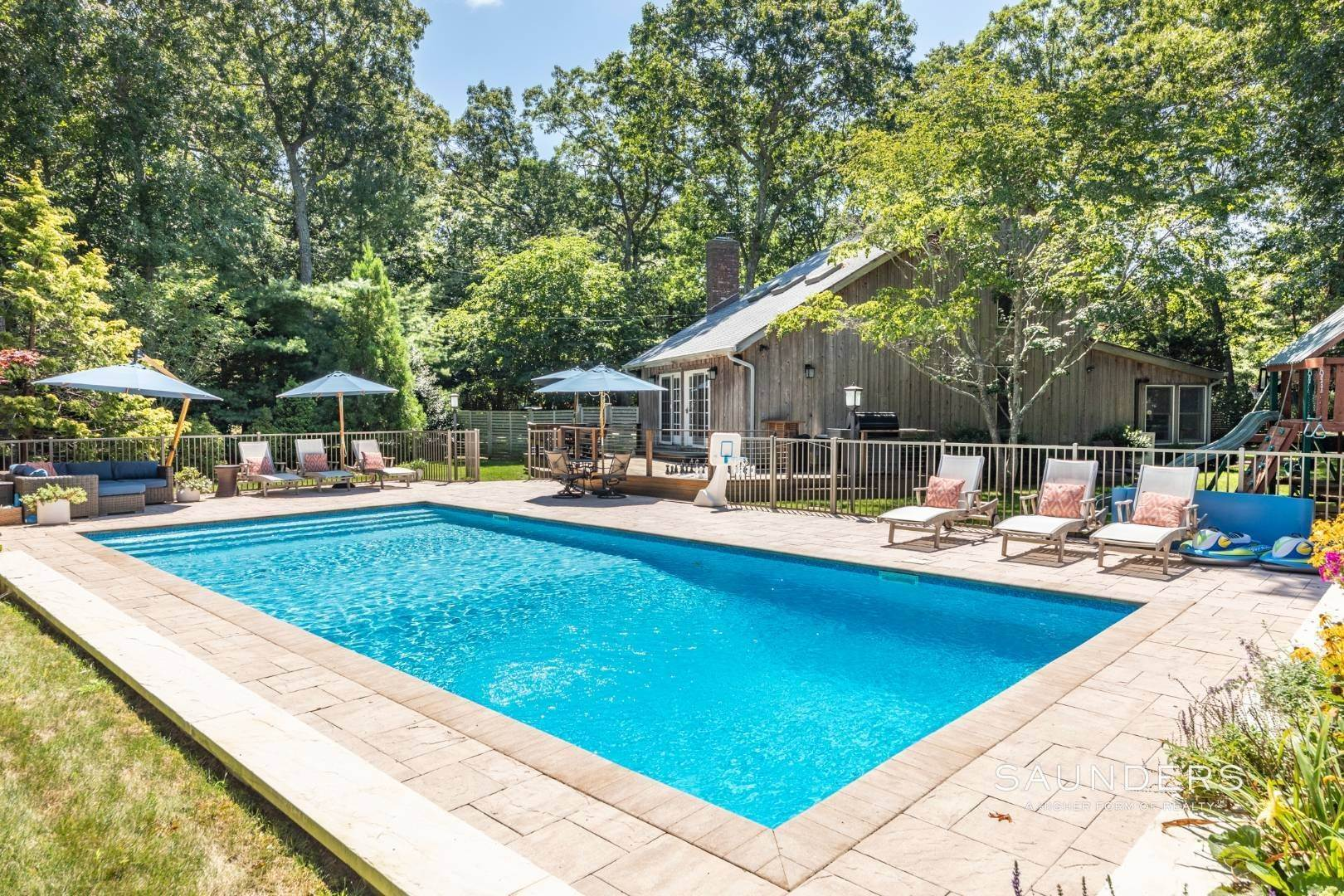 Single Family Homes at Stylish Oasis In Clearwater 110 Kings Point Road, East Hampton, East Hampton Town, NY 11937