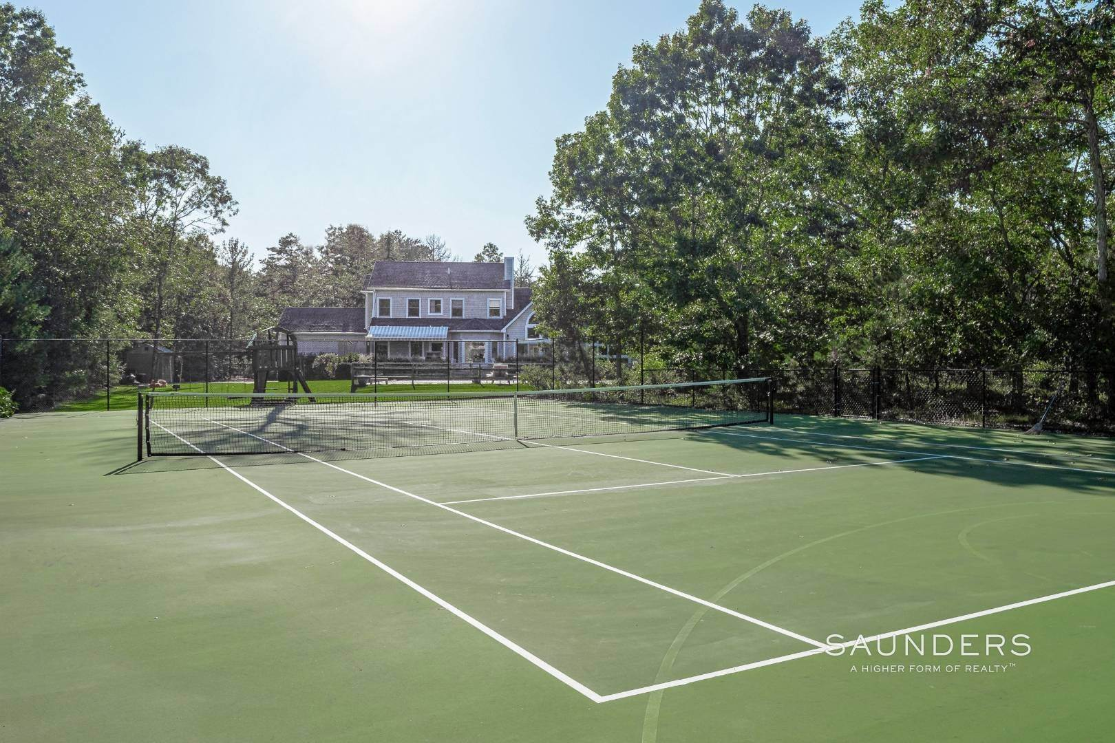 Single Family Homes for Sale at East End Retreat With Pool And Tennis 130 Six Pole Highway, Wainscott, East Hampton Town, NY 11963