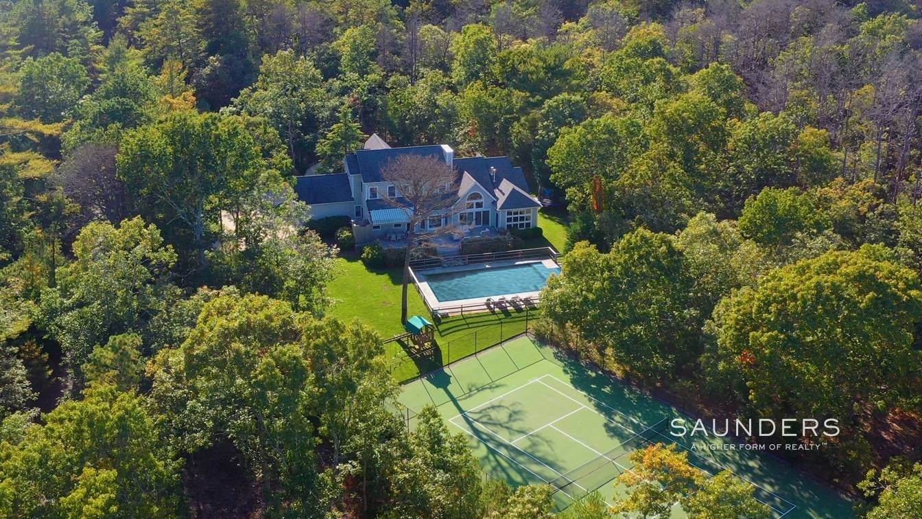 2. Single Family Homes for Sale at East End Retreat With Pool And Tennis 130 Six Pole Highway, Wainscott, East Hampton Town, NY 11963