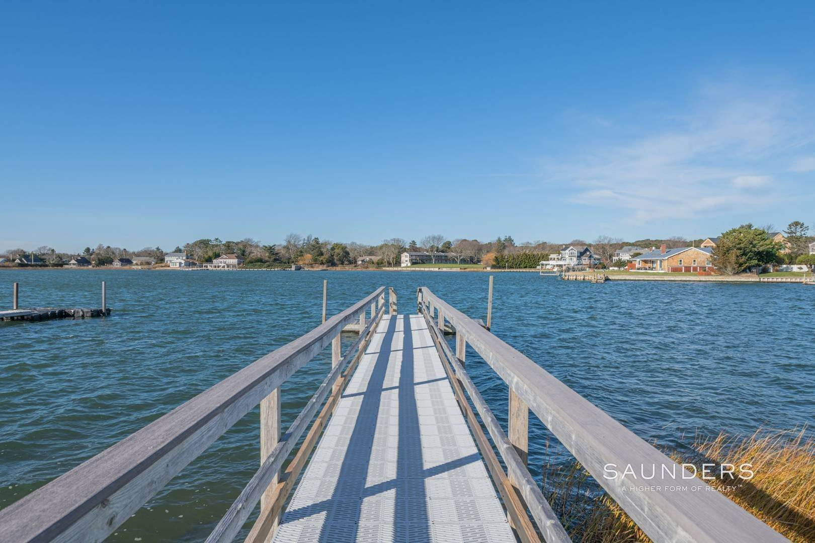 3. Single Family Homes at Attention Boaters! Waterfront Sunsets And Deep Water Dock 15 Middle Pond Lane, Southampton, Southampton Town, NY 11968