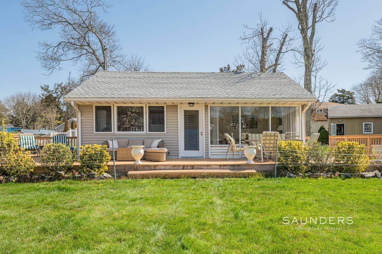 Single Family Homes at Waterfront Cottage Hampton Bays, Southampton Town, NY 11946