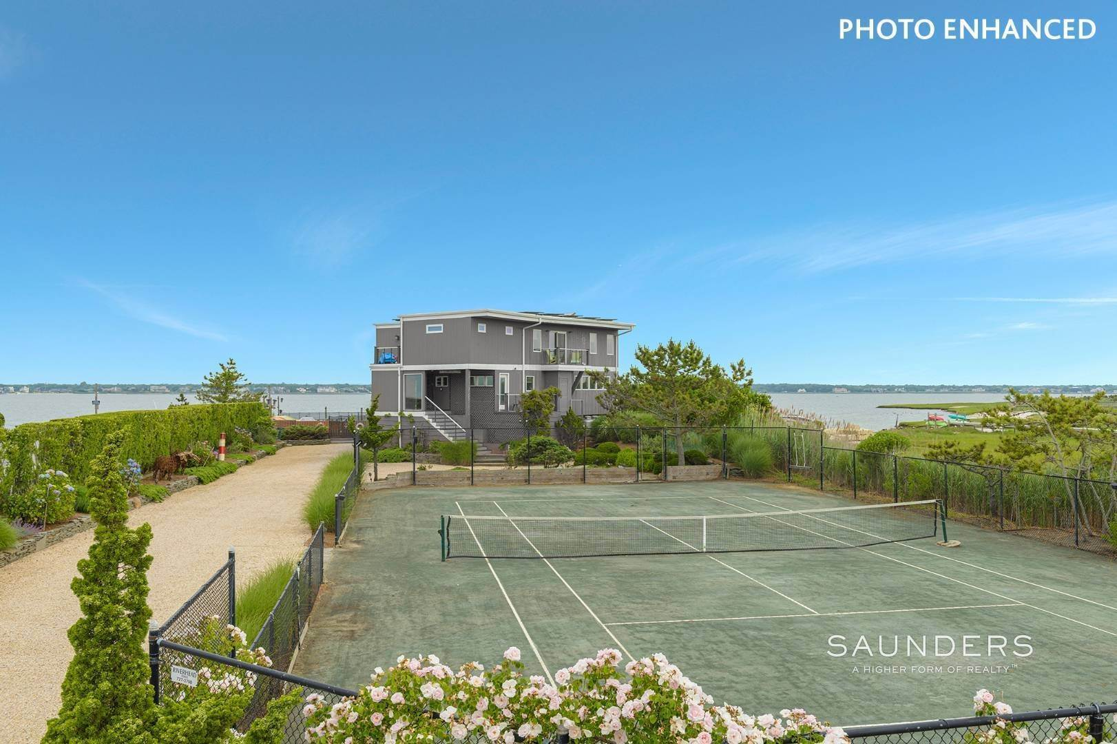 5. Single Family Homes for Sale at Bayfront Paradise 570 Dune Road, Westhampton, Southampton Town, NY 11977