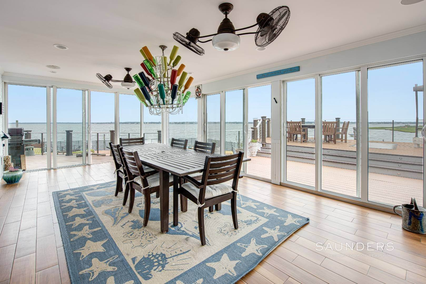 13. Single Family Homes for Sale at Bayfront Paradise 570 Dune Road, Westhampton, Southampton Town, NY 11977