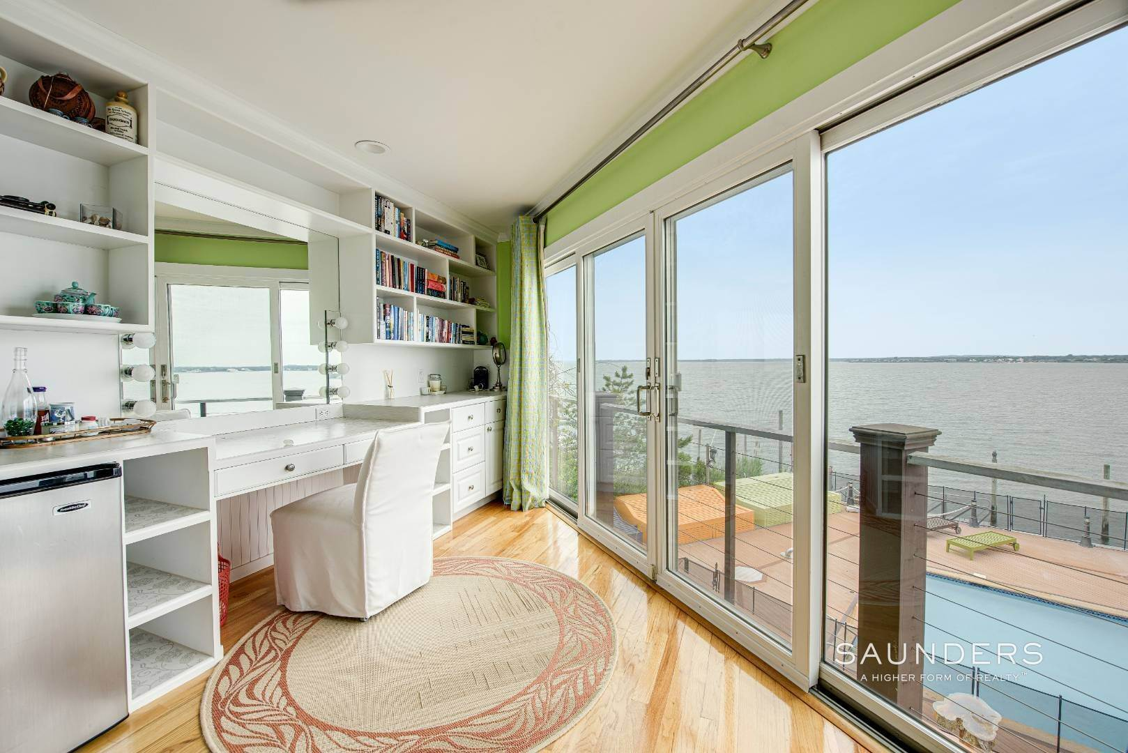 17. Single Family Homes for Sale at Bayfront Paradise 570 Dune Road, Westhampton, Southampton Town, NY 11977