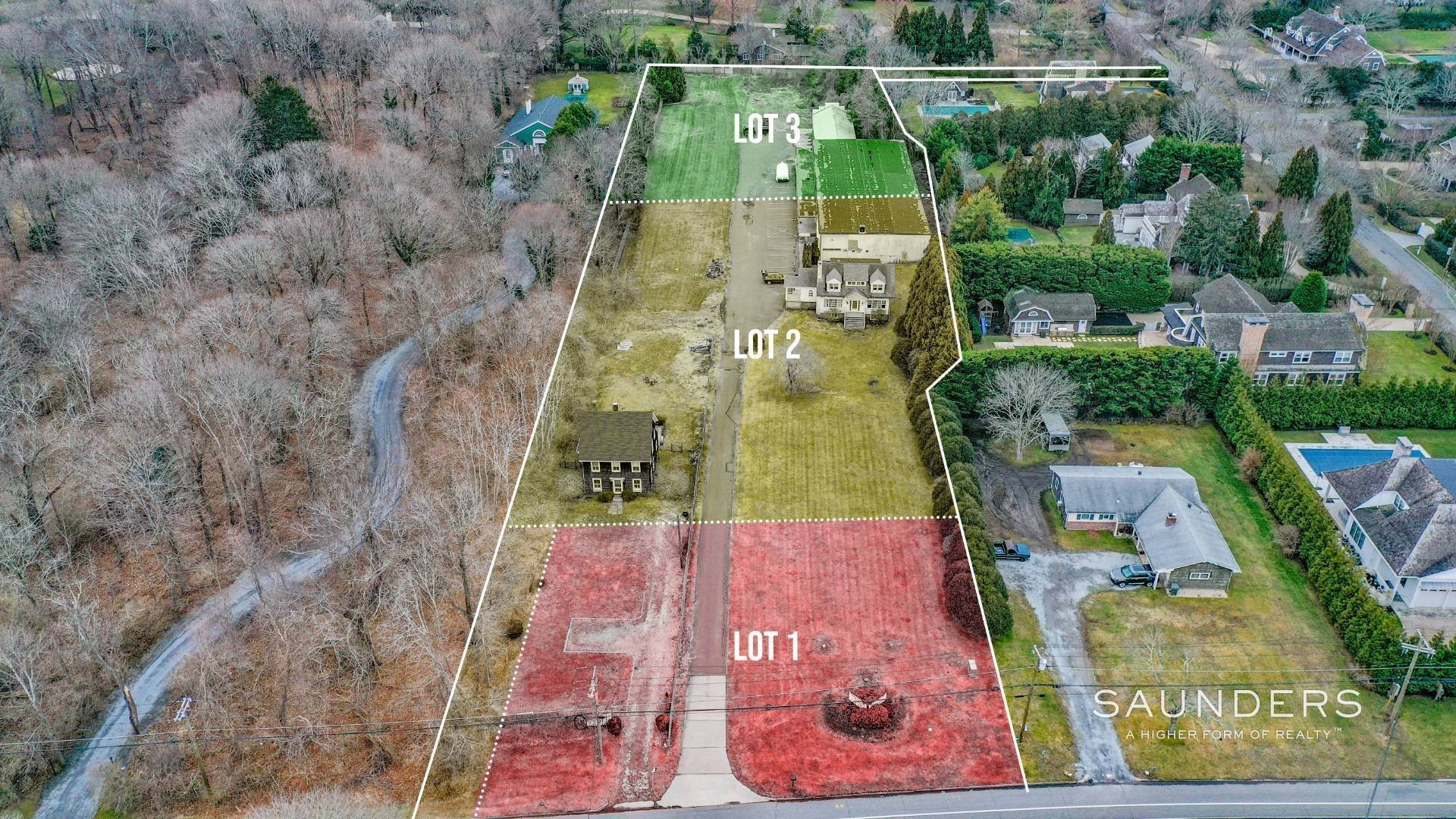 Single Family Homes for Sale at Southampton Village South- New 3 Lot Estate Subdivision/Compound 550 & 554 Hill Street, Southampton, Southampton Town, NY 11968