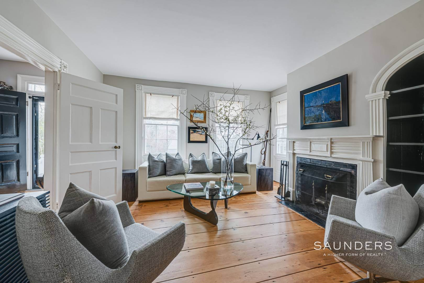 5. Single Family Homes for Sale at Sag Harbor Village Historic Renovation With Pool And Cottage 49 Rysam Street, Sag Harbor, Southampton Town, NY 11963