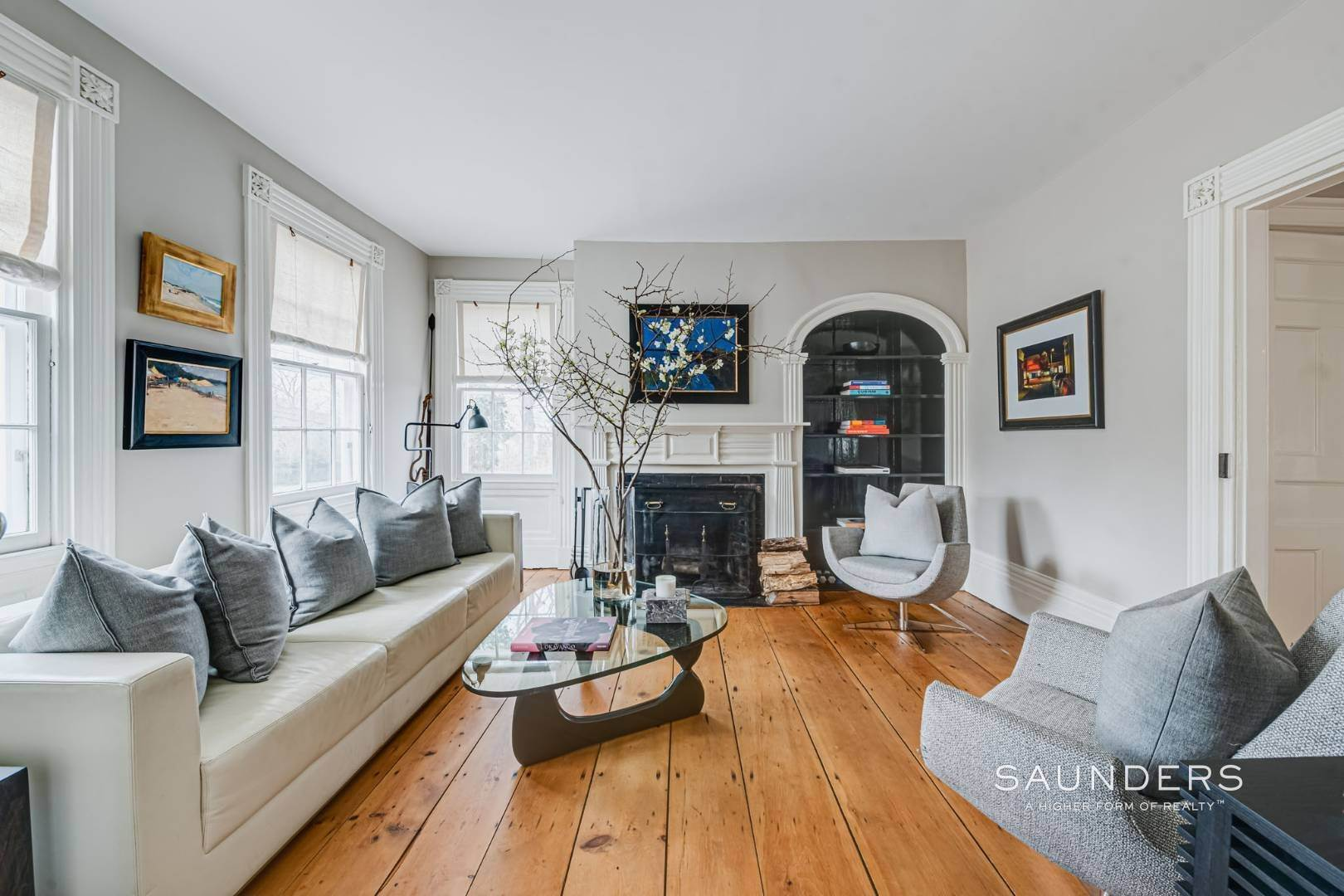 4. Single Family Homes for Sale at Sag Harbor Village Historic Renovation With Pool And Cottage 49 Rysam Street, Sag Harbor, Southampton Town, NY 11963
