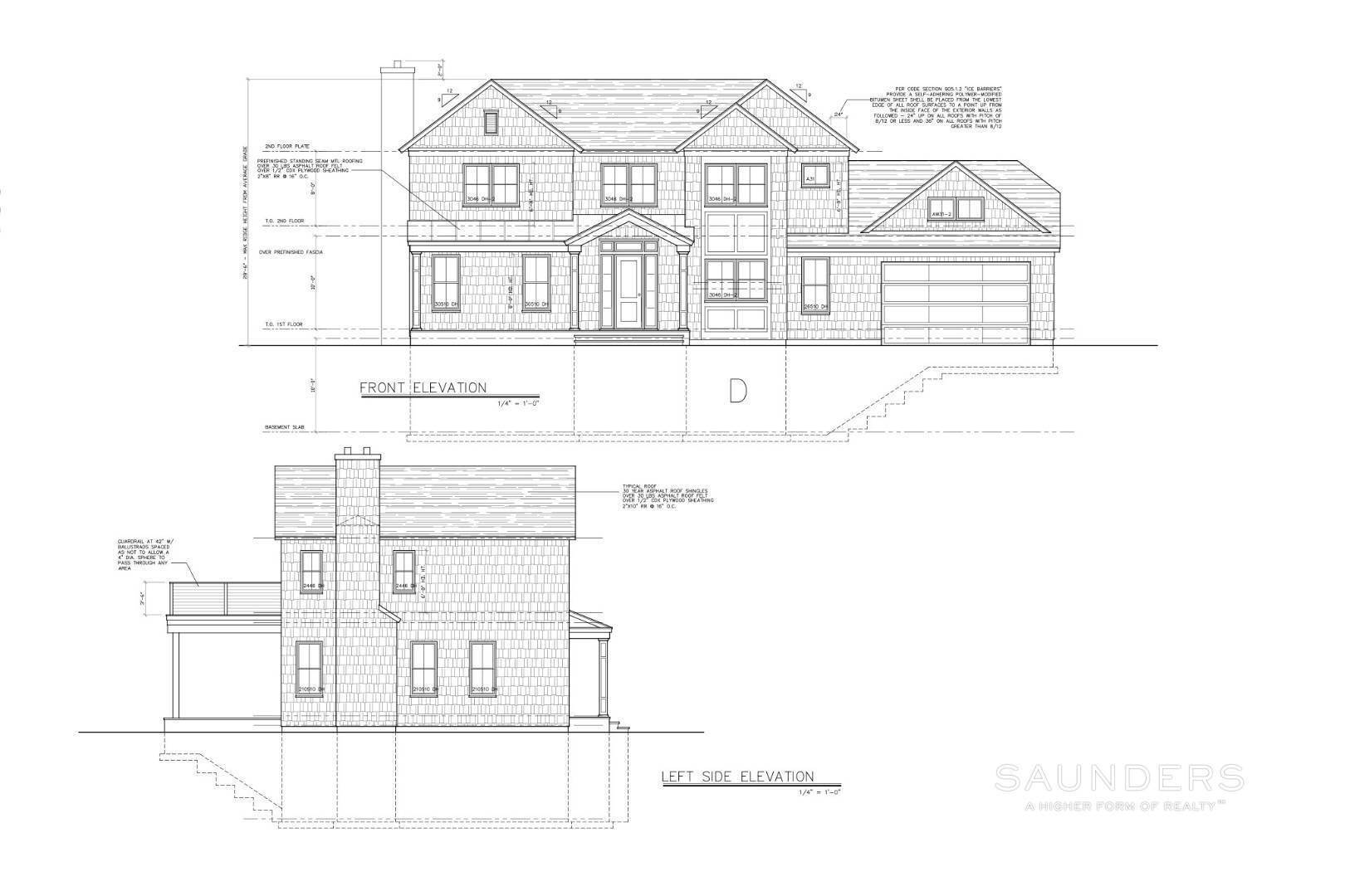 2. Single Family Homes for Sale at New Construction Southampton Cove 75 Knoll Road, Southampton, Southampton Town, NY 11968