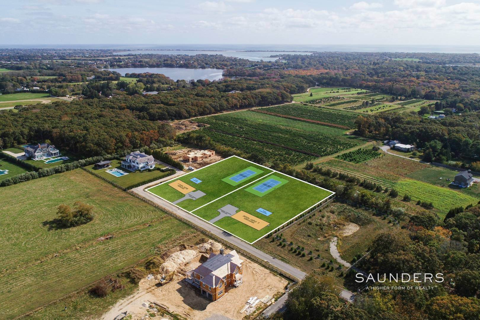 4. Land for Sale at Water Mill 1.4 Acre Parcel 420 Seven Ponds Towd Road, Water Mill, Southampton Town, NY 11976