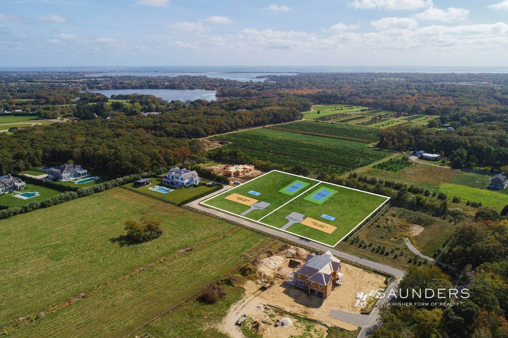 3. Land for Sale at Water Mill 1.4 Acre Parcel 420 Seven Ponds Towd Road, Water Mill, Southampton Town, NY 11976
