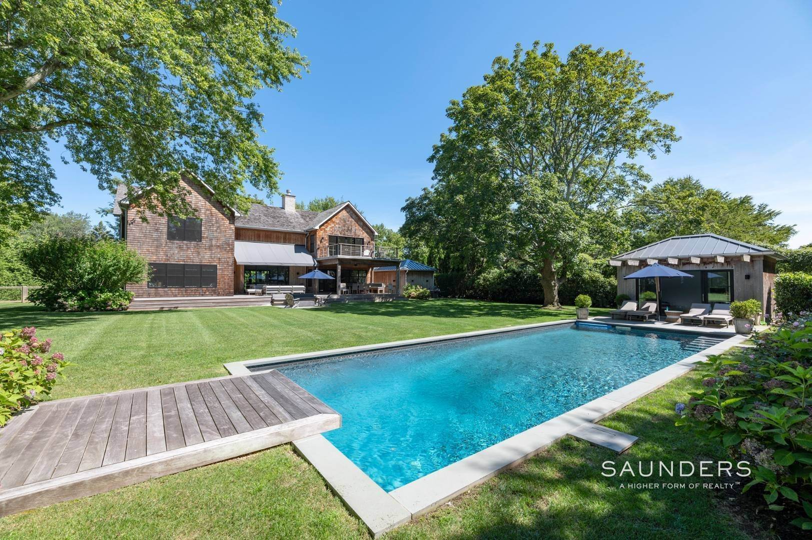2. Single Family Homes for Sale at European Chic In Bridgehampton South 139 Hildreth Avenue - 20 Audubon Avenue, Bridgehampton, Southampton Town, NY 11937