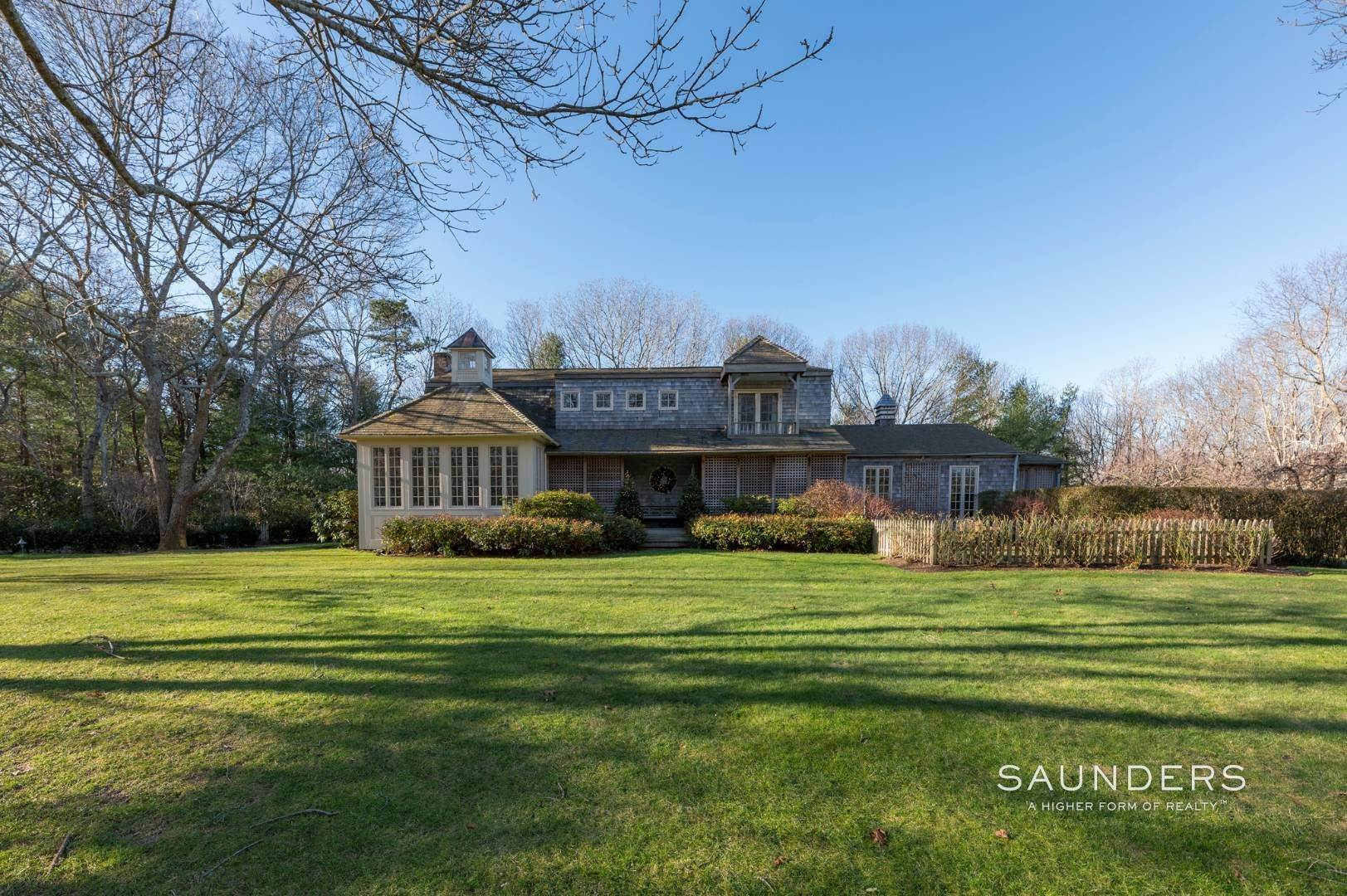 Single Family Homes for Sale at Expansive Sagaponack Home With Room For Pool And Tennis 788 Sagg Road, Sagaponack, Southampton Town, NY 11962