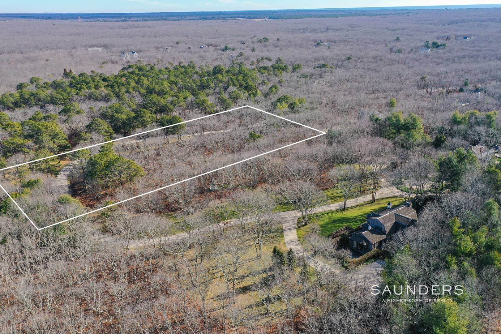 Land for Sale at Builder's Dream-Exceptional Lot In Sagaponack-Pool And Tennis 750 Sagg Road, Sagaponack, Southampton Town, NY 11962