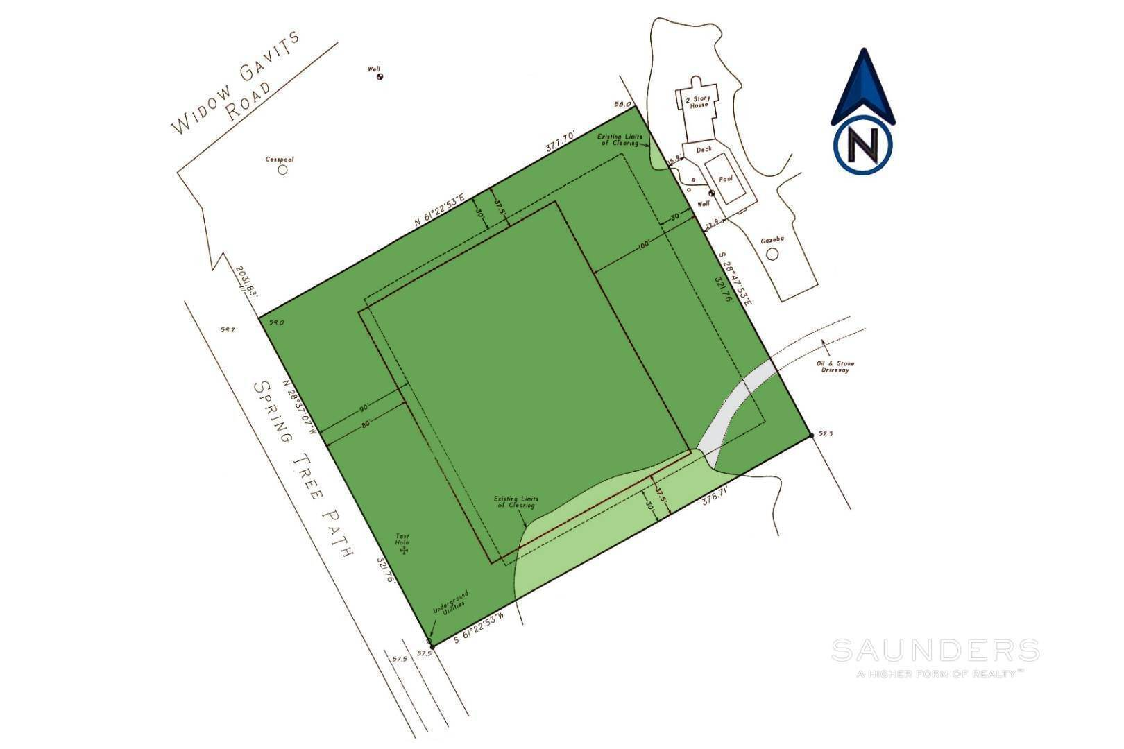 3. Land for Sale at Builder's Dream - Exceptional Building Lot In Sagaponack 780 Sagg Road, Sagaponack, Southampton Town, NY 11962