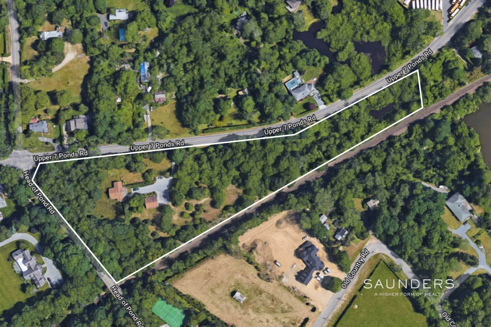 Single Family Homes for Sale at 4.3 Fully Clearable & Subdividable Acres In Water Mill 319 Upper Seven Ponds Road, Water Mill, Southampton Town, NY 11976