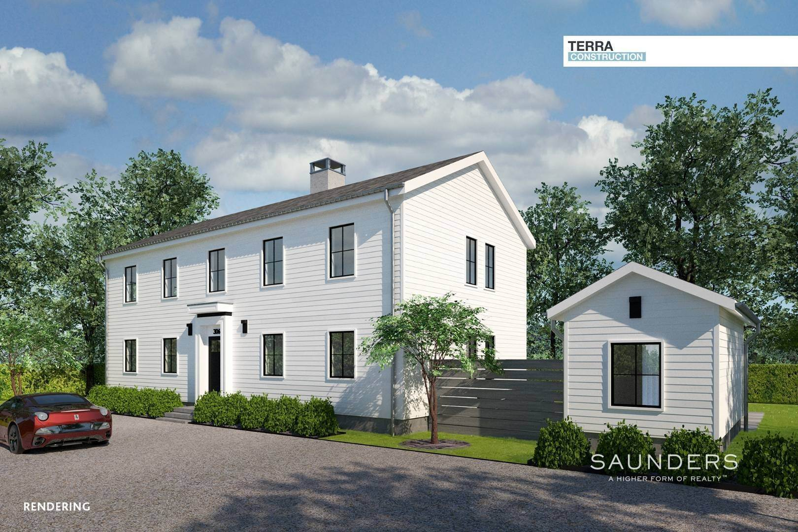 2. Single Family Homes for Sale at Land + Custom Build - Southampton Village 306 Hill Street, Southampton, Southampton Town, NY 11968