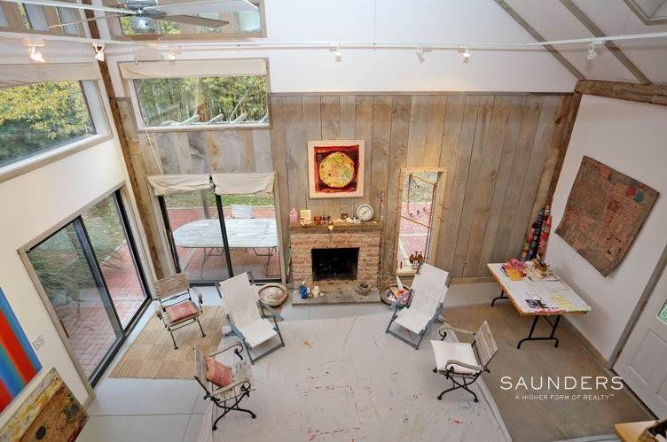 5. Single Family Homes for Sale at Unique Barn Residence And Studio Westhampton, Southampton Town, NY 11977