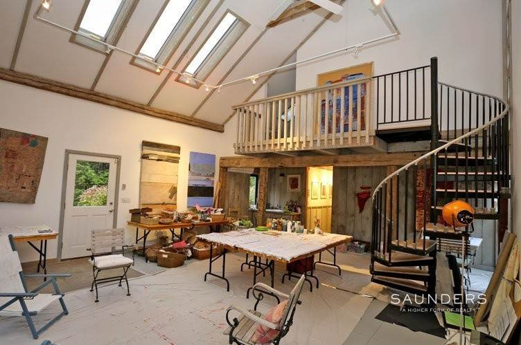 4. Single Family Homes for Sale at Unique Barn Residence And Studio Westhampton, Southampton Town, NY 11977