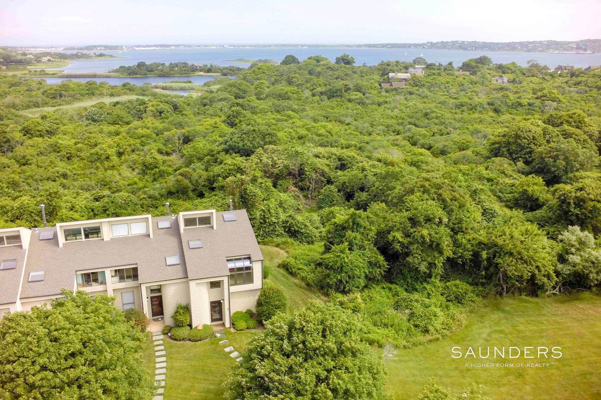 Condominiums at Designer Townhouse Rental Montauk, East Hampton Town, NY 11954