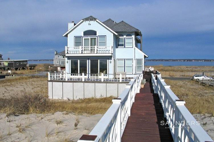 3. Single Family Homes for Sale at Westhampton Oceanfront 5 Bedroom Home With Heated Gunite Pool Westhampton Dunes Village, Southampton Town, NY 11977