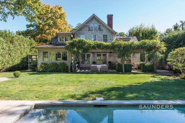 Single Family Homes at Magnificent Newer Home Close To Village And Water Sag Harbor, Southampton Town, NY 11963