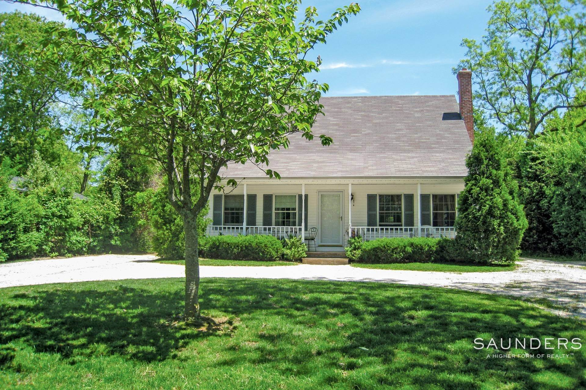 Single Family Homes at Charming Rental In Sag Harbor Sag Harbor, Southampton Town, NY 11963