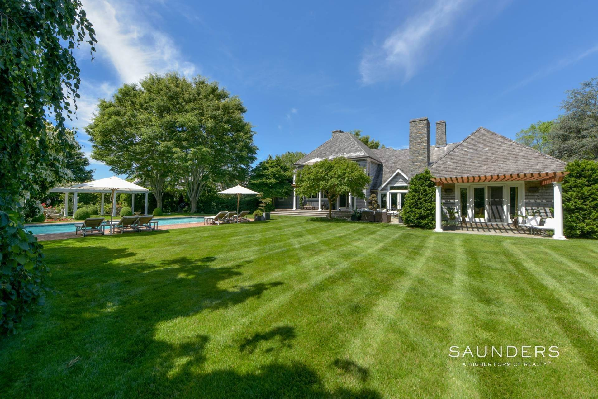 Single Family Homes at Private And Elegant In Water Mill Water Mill, Southampton Town, NY 11976