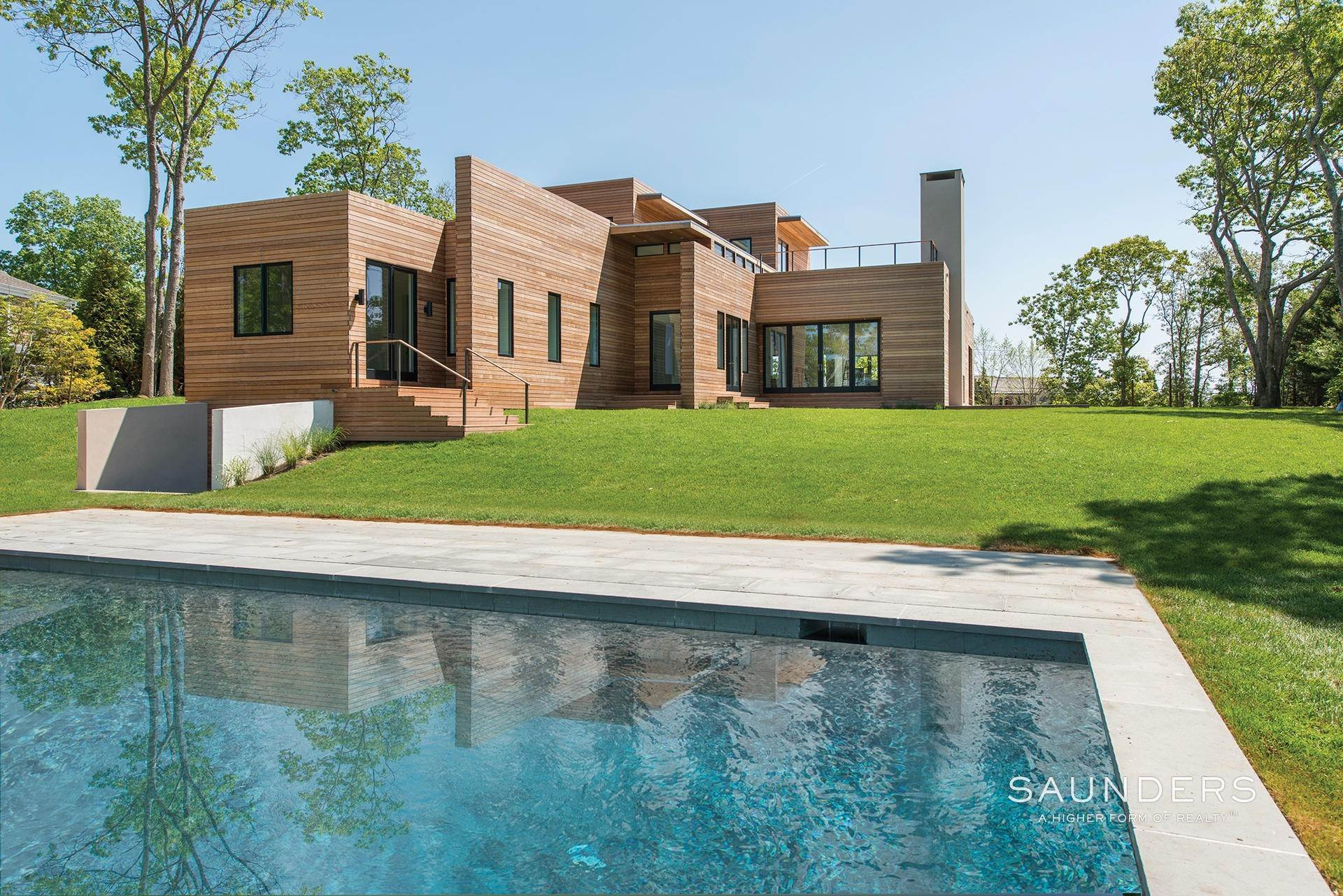 Single Family Homes at Fabulous Modern With Pond And Vineyard Views! Sagaponack Village, Southampton Town, NY 11962
