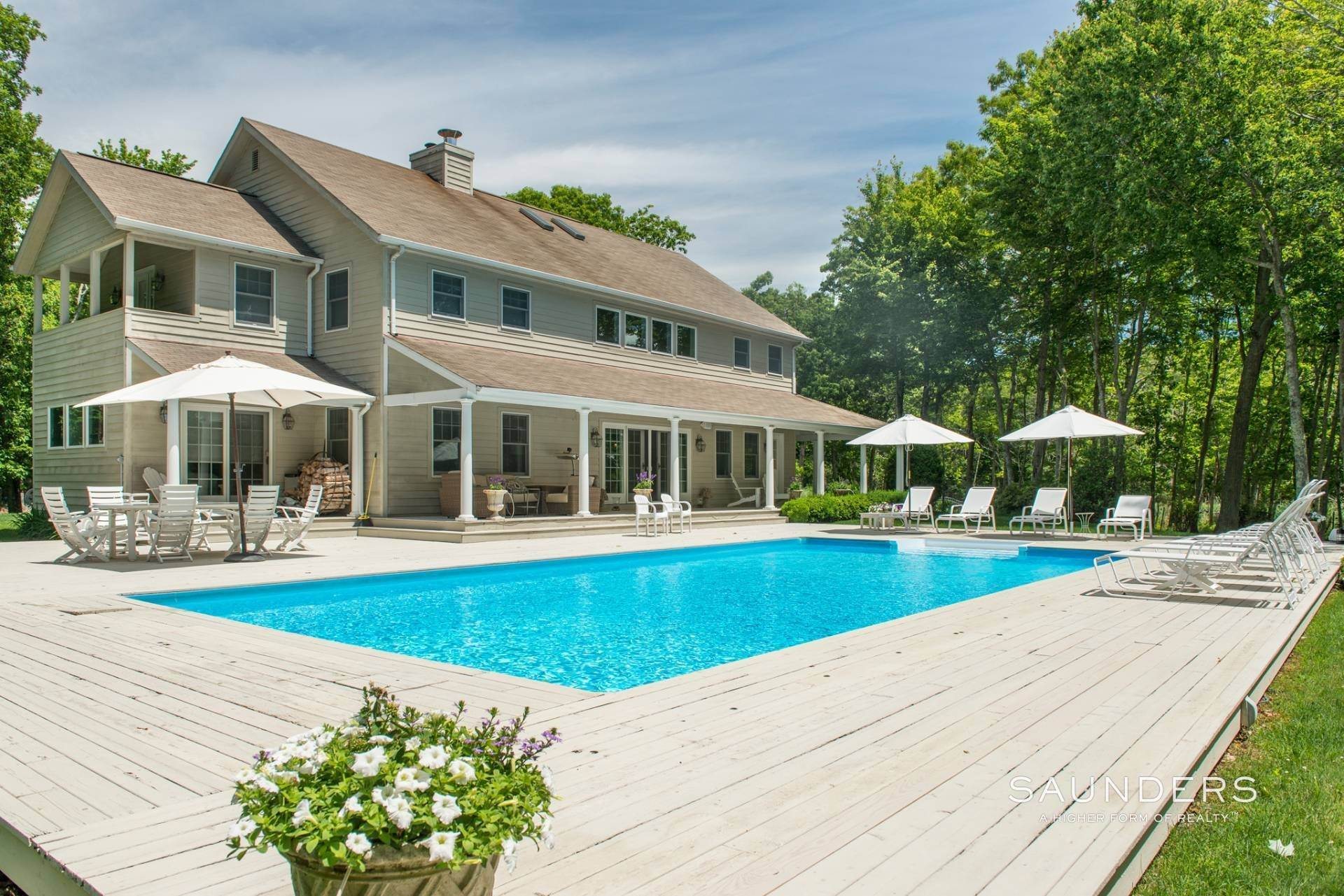 Single Family Homes at Private Oasis In Sag Harbor Sag Harbor, Southampton Town, NY 11963