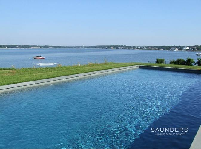 Single Family Homes at Waterfront Masterpiece On The Shores Hampton Bays, Southampton Town, NY 11946