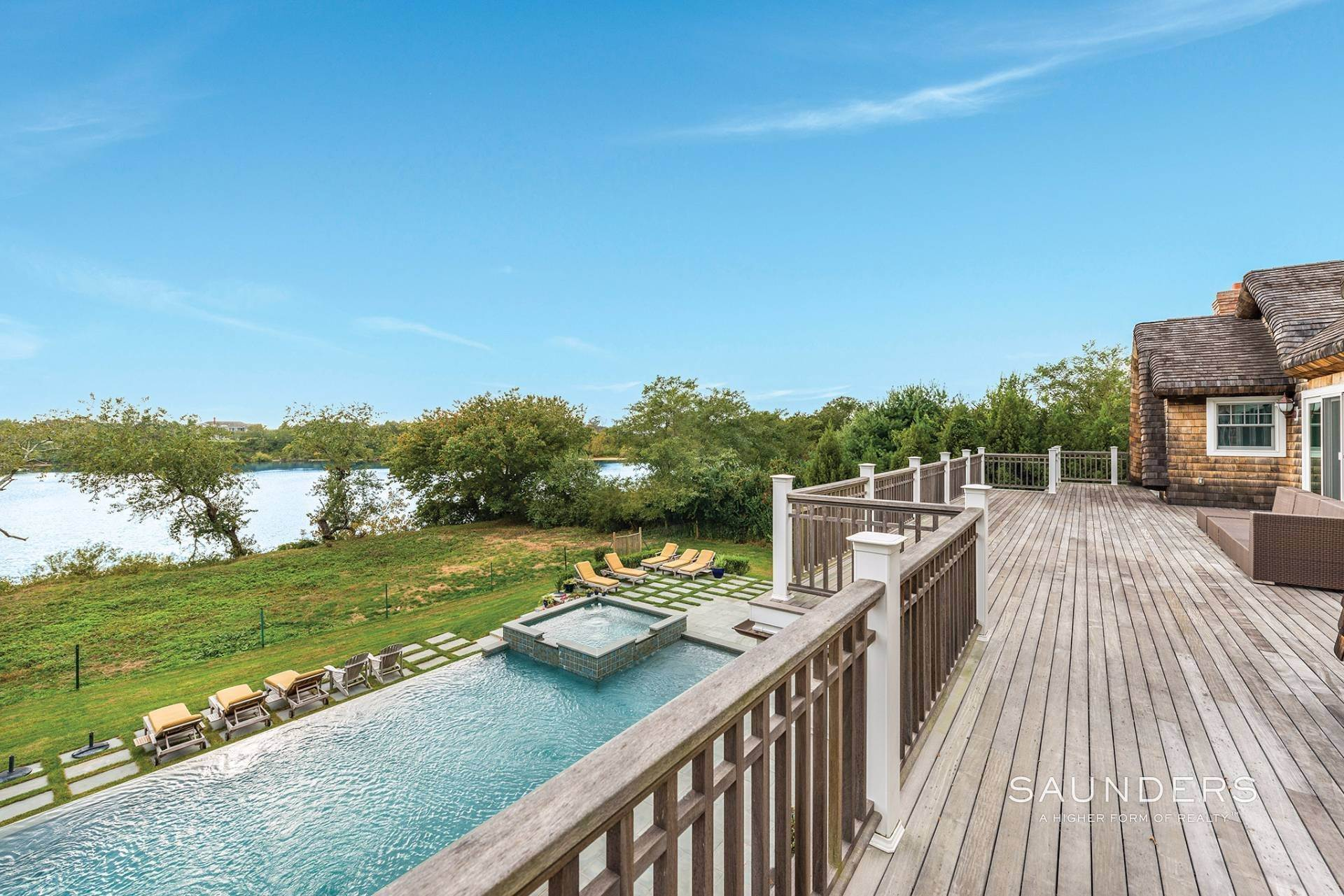 16. Single Family Homes at Designer's Own Waterfront Home - Bridgehampton South Bridgehampton, Southampton Town, NY 11932