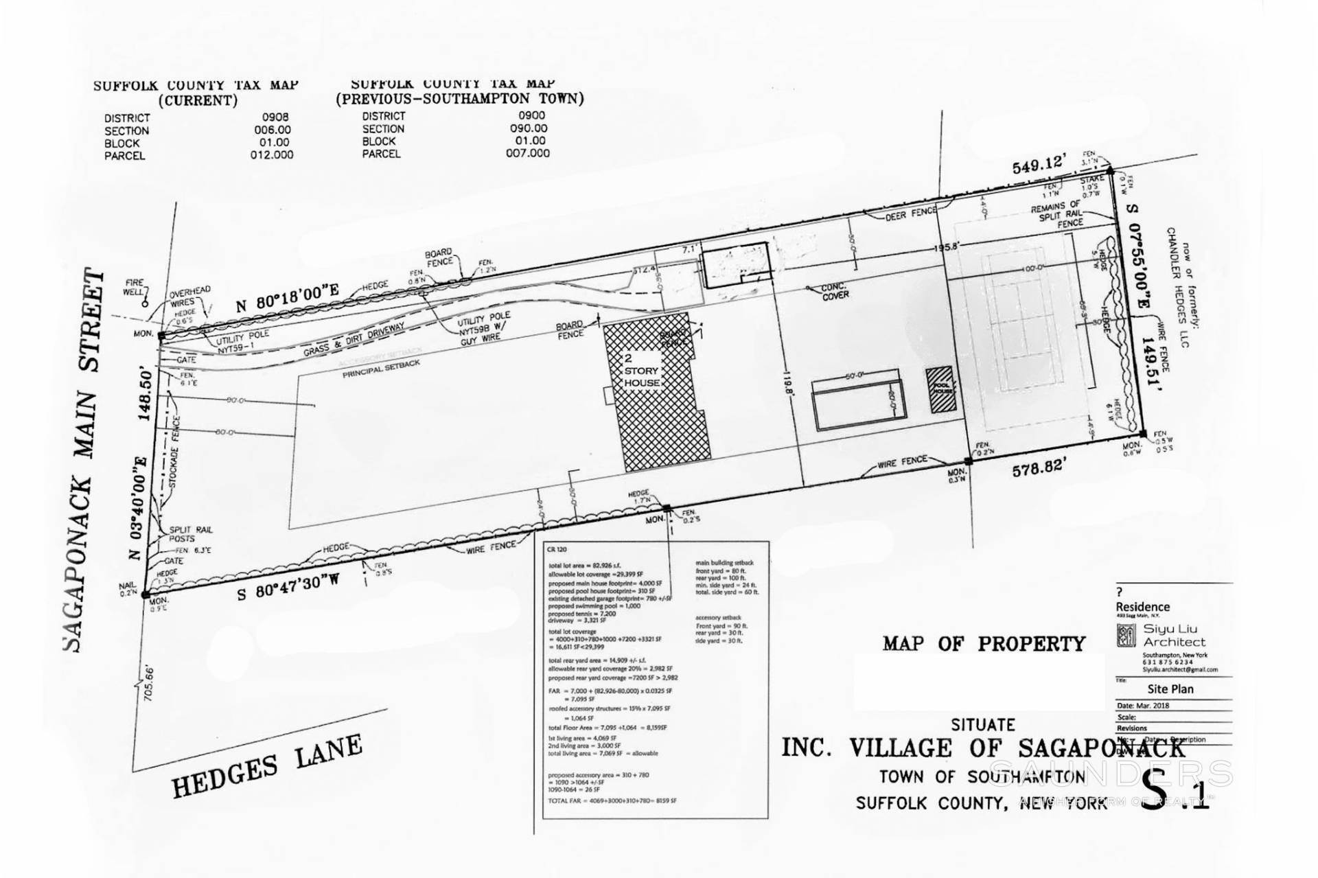 5. Land for Sale at Build Your Dream Home On Sagg Main In Sagaponack Sagaponack Village, Southampton Town, NY 11962